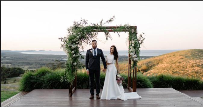 Beach Wedding Venues Near Byron Bay Beach Wedding Reception Venue